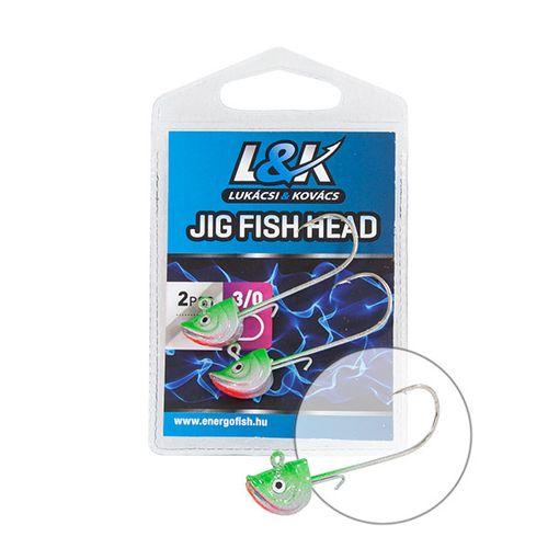 L&K JIG  FISH HEAD