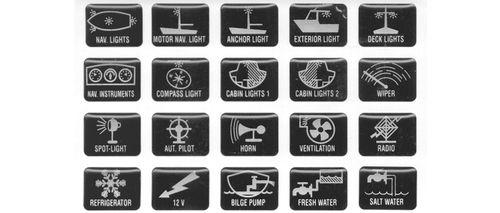 Stickere cu simboluri