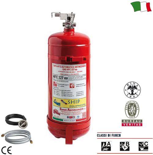Extinctor cu gaz HFC 227
