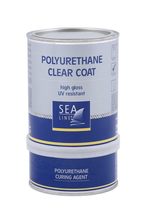Vopsea poliuretanica SEA LINE extra lucioasă incoloră