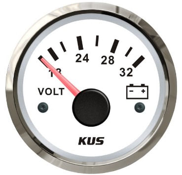 "Ceas Indicator Voltmetru ""KUS"""