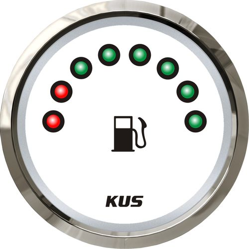 "Ceas Indicator Combustibil ""KUS"" cu 8 LEDURI"